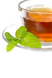 Tea and mint Royalty Free Stock Photo