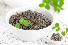Tea with mint Royalty Free Stock Images
