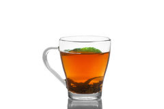 Tea with mint Stock Photos