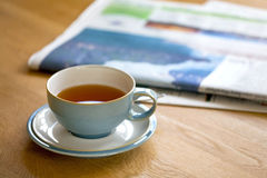 Tea in the morning Royalty Free Stock Image