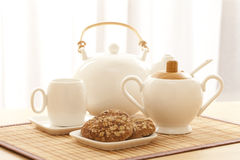 Tea in the morning Royalty Free Stock Photography