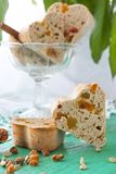 Tea muffins with dried-fruit and candied fruit. Tea muffins with dried fruit, candied fruit cinnamon and cardamom Royalty Free Stock Photography