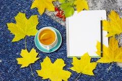 Tea mug with lemon on royalty free stock image