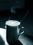 Tea mug monochrome Stock Images