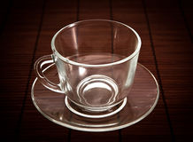 Tea mug and saucer for tea Royalty Free Stock Photography