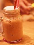 A tea mug. On the table Stock Photos