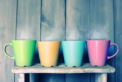 Tea mugs Royalty Free Stock Photo