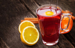 Tea, mulled wine Stock Photography