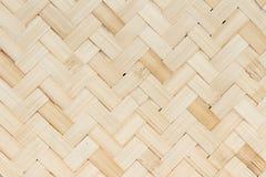 Teça o bambu Fotos de Stock Royalty Free