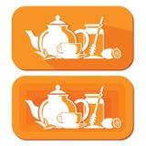 Tea objects Royalty Free Stock Photo