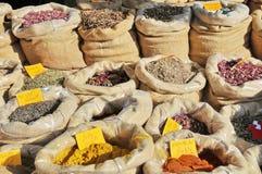 Tea och kryddor royaltyfri fotografi