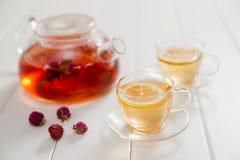 Tea och teatime Royaltyfria Bilder