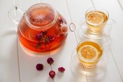 Tea och teatime Royaltyfria Foton