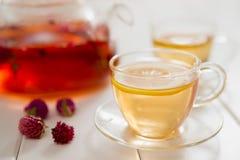 Tea och teatime Royaltyfri Fotografi