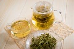 Tea och teatime Fotografering för Bildbyråer