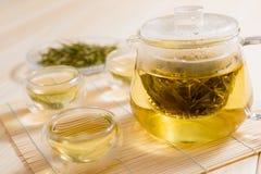 Tea och teatime Arkivbild