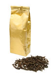 Tea package Stock Photos