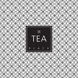Tea packaging. Template design element. Royalty Free Stock Image