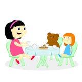 Tea party Imagem de Stock