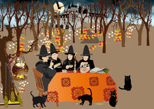 Tea party Ilustração Royalty Free