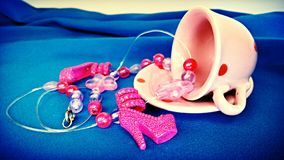 Tea party brilhante Fotografia de Stock Royalty Free