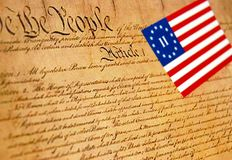 Tea Party Constitution Stock Photos