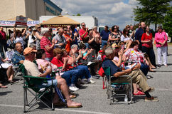 Tea Party Crowd Royalty Free Stock Photos