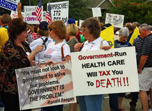 Tea Party Express Rally Royalty Free Stock Images