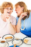 Tea Party Gossip Royalty Free Stock Photography
