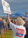 Tea Party Protesters Royalty Free Stock Image