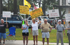 Tea Party Protesters Royalty Free Stock Photo