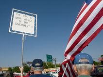 Tea Party Protesters Royalty Free Stock Images