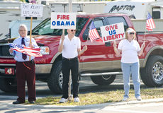 Tea Party Protesters Royalty Free Stock Photography