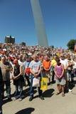 Tea Party Rally in Saint Louis Missouri Royalty Free Stock Photography
