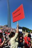 Tea Party Rally in Saint Louis Missouri Stock Photography