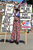 Tea Party Rally in Saint Louis Missouri Stock Images