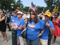 Tea Party Supporters Royalty Free Stock Image