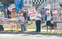 Tea Party Tax Protesters Royalty Free Stock Image