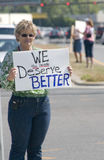 Tea Party Tax Protesters Stock Images