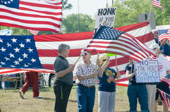 Tea Party Tax Protesters Stock Photos