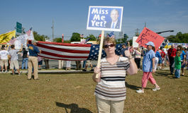 Tea Party Tax Protesters Royalty Free Stock Photos