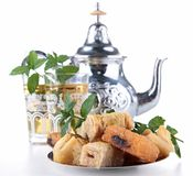 Tea and pastry Stock Image