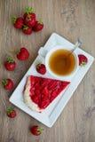 Tea With Pie Stock Photo