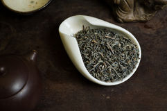Tea in cup dry Stock Image