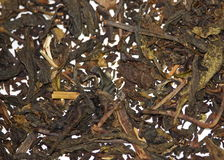 Tea. Pile of Dried tea leaves Stock Photo