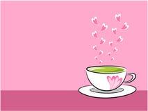 Tea illustration Stock Photography