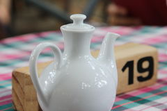 Tea pitcher Stock Image