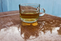 Tea. Placed on the mortar Stock Images
