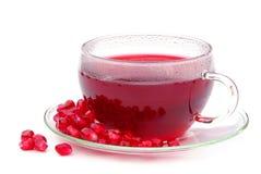 Tea pomegranate Stock Image