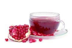 Tea pomegranate Royalty Free Stock Photo